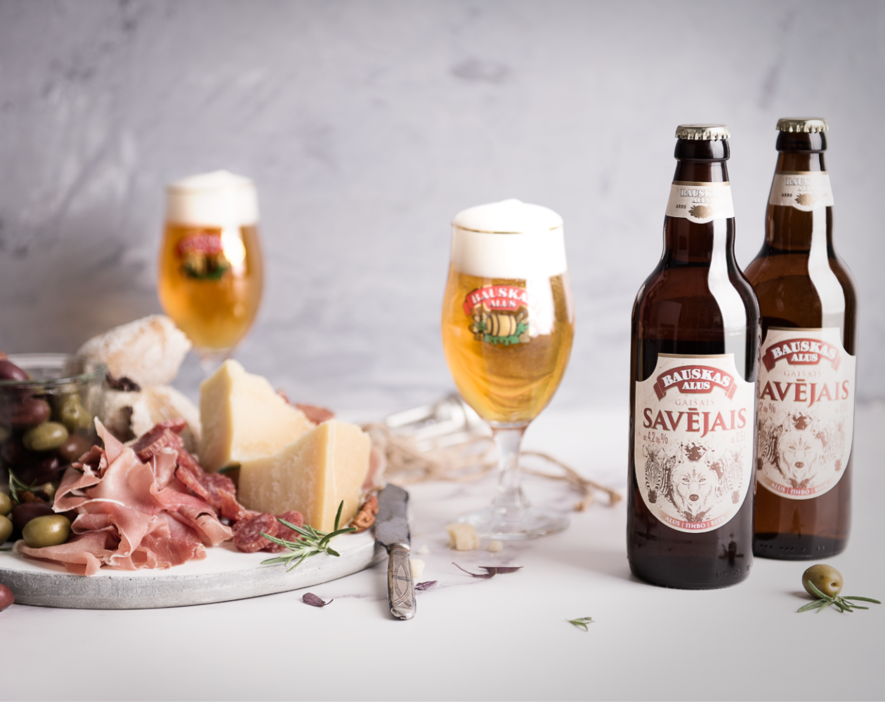 """Bauska brewery is excited to introduce a new brand of light beer -  'Own light beer' (""""Savējais"""")"""