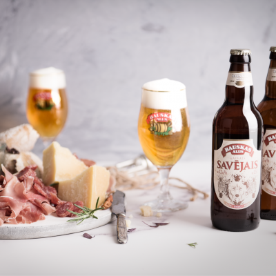 "Bauska brewery is excited to introduce a new brand of light beer -  'Own light beer' (""Savējais"")"