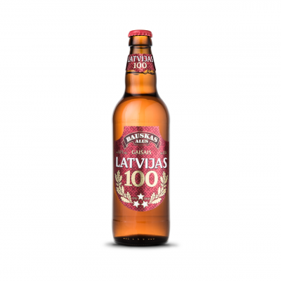 Bauska brewery releases Bauskas Latvian 100 Premium light beer to honour the 100th anniversary of Latvia