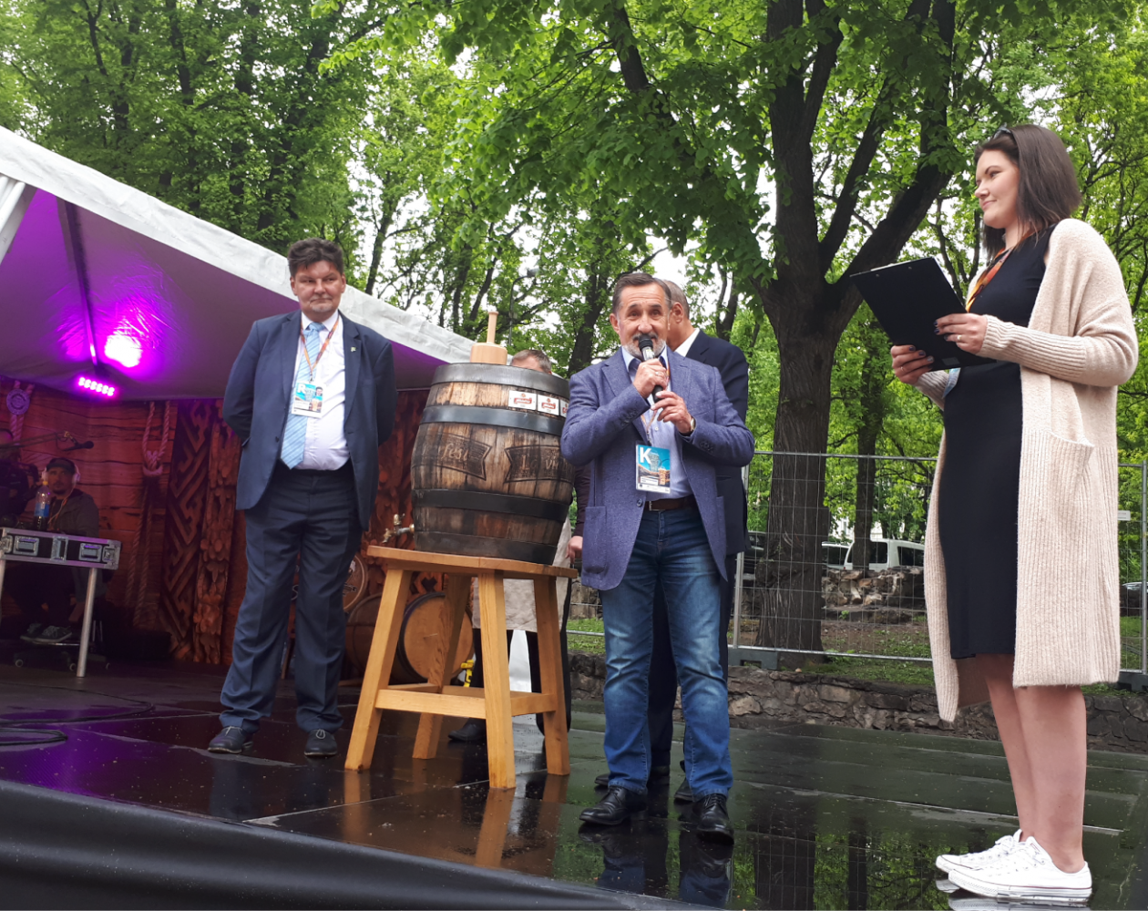 Bauska brewery has been participating in Latviabeerfest for seven consecutive years