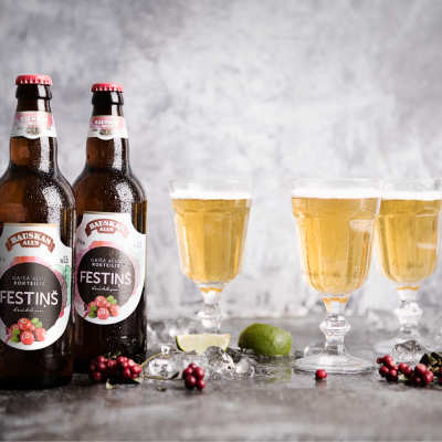 "Bauska brewery introduces a new product line: craft beer ""Festiņš"""